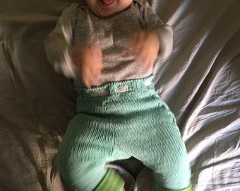 Handknit Baby Pants (9-12 months)