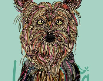 Trixie the Yorkshire terrier