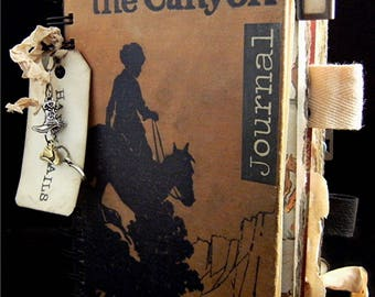 """Travel Journal """"Happy Trails"""" StoryBook"""