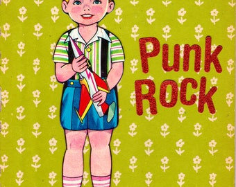 Punk Rocket {Original Collage}