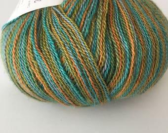 Silky lace yarn - destash - lace yarn - free shipping!