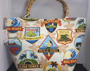 Tote Bag - Hawaiian Labels