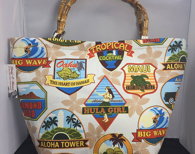 Tote Bag - Hawaiian Labels