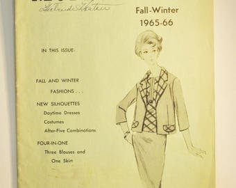 Modes Royale  Mail Order Pattern Catalogue  Fall and Winter 1965-66   Vintage Sewing Patterns Illustrated in Modes Royale