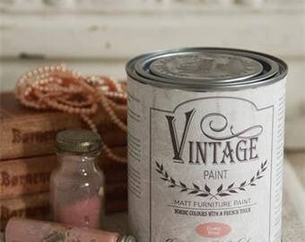 Vintage Paint - chalk paint - 100ml pot - Dusty rose