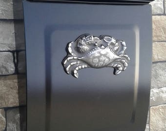 Sea Crab Coastal Mailbox