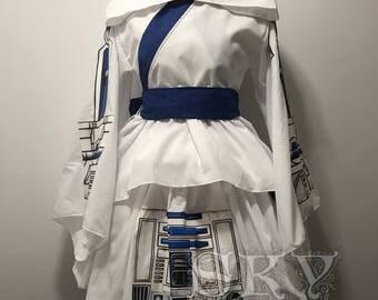 R2D2 Kimono Dress Lux Version