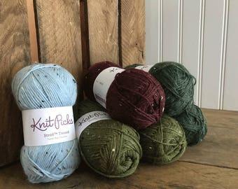 Knitpicks Stroll Tweed Sock Yarn