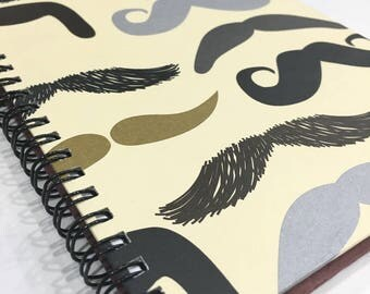 Ruled Journal - Mustache