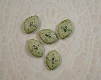 Petite Green set of 5
