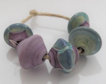 Handmade Lampowrk Beads, Handmade Glass Beads