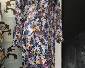 silk chiffon dresses XL and small