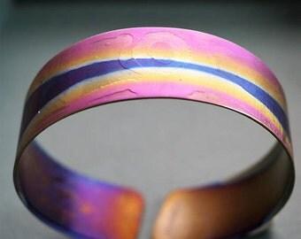 Titan Orbit Anodized Titanium Bracelet