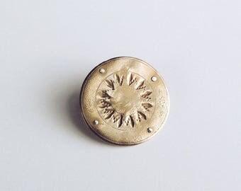 Helios Disc Ring
