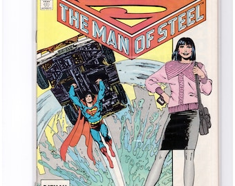 Issue 2 Superman The Man of Steel Comic Book