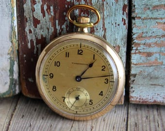 Antique Washington Gold-Filled Pocket Watch by avintageobsession on etsy...FREE USA Shipping