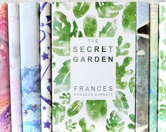 The Secret Garden - Frances Hodgson Burnett - Exclusively Designed Book Cover - Book Lover Gift - Book Shelf - Literary Gifts - Book Gifts