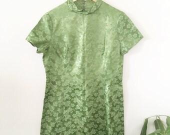 60's Asian Jade Dress