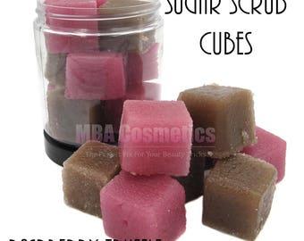 Sugar Scrub Cubes-Raspberry Truffle