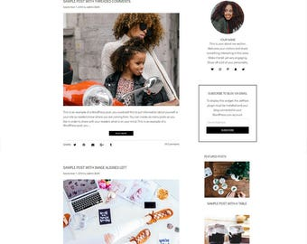 SALE 30% OFF WordPress Blog Theme - Beauty WordPress Design -  WordPress Theme - WordPress Blog Theme - WordPress Template - Mandy