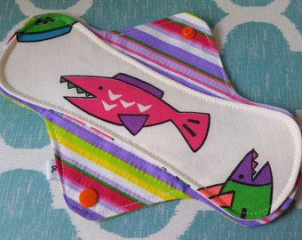 EXPOSED CORE, CUSTOM Cloth Pantyliner or Menstrual Pad