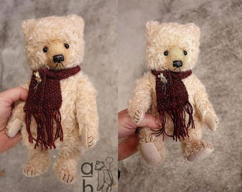 Peregrine, One Of a Kind  Mohair Artist Teddy Bear from Aerlinn Bears