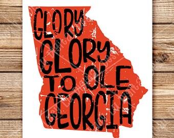 SEC - Glory, Glory To Ole Georgia