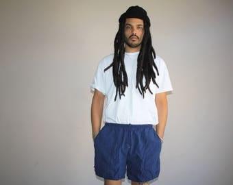 1990s Vintage Nike Minimalist Swim Trunk Shorts - Vintage Nike Shorts - 90s Clothing - MV0187