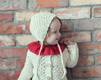 Baby Hat Knit Newborn hat baby girl hat Baby accessories Knitted Newborn hat Newborn Photo Prop hat Baby shower gift