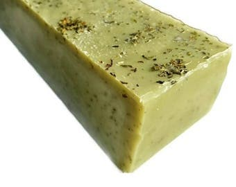 SOAP - 3.5 lb Spearmint Eucalyptus Handmade Soap Loaf, Wholesale Soap Loaves, Vegan Soap, Cold Processed Soap, Natural Soap, FREE SHIPPING