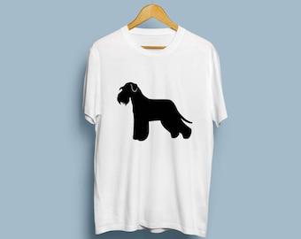 Standard Schnauzer - Digital Download, Standard Schnauzer Art, Dog Silhouette, Dog Decor, SVG, JPG, PDF