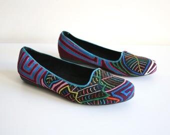 Mola Textile Shoes 36