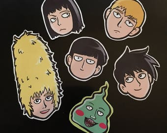 Mob Psycho 100 Stickers