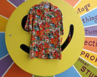 VINTAGE 1980's Men's Islands of Paradise Hawaiian Shirt by RJC Ltd of Hawaii - available