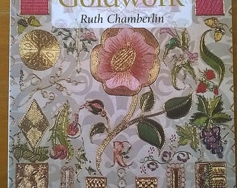Beginners Guide to Goldwork by Ruth Chamberlin
