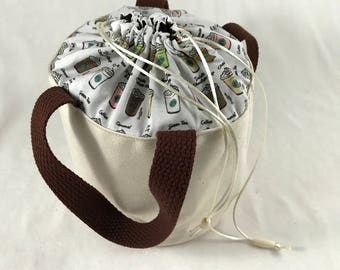Just a Cuppa - Bitty Bucket Bag
