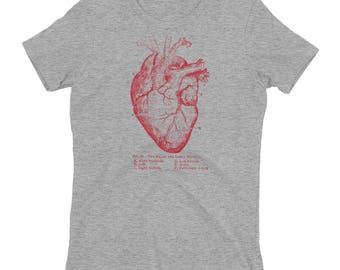 Anatomical Heart Women's T-shirt