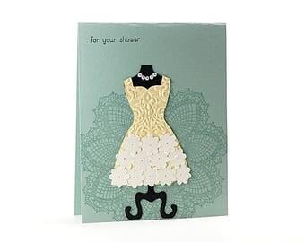Wedding dress cards Etsy