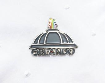 Orlando Enamel Pin