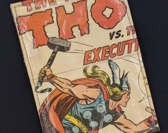 Thor Avenger Upcycled Comic Book Card Holder Wallet
