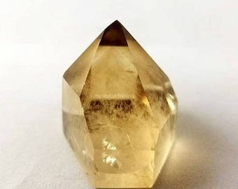 Natural Smokey Citrine from Madagascar w/Phantoms | (#2)