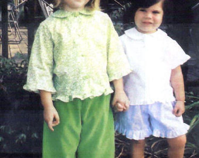 Childrens Corner / Lettie Pattern / Girls Blouse Pattern /  Pants Pattern / Shorts Pattern / Children's Corner  265