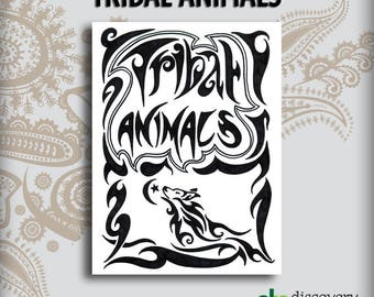 Tribal Animals Design Book