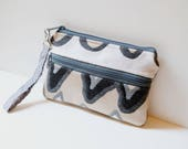 "Modern wristlet purse | 8.5""x5.75"" 