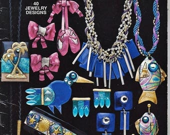 Friendly Plastic Piazz 40 Jewelry Designs Pattern Book Hot Off The Press HOTP 188