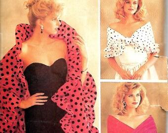 Butterick 6982 It's A Wrap! Shawl, Scarf And Drape Pattern, UNCUT