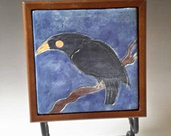 Crow Tile Box