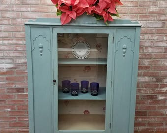 Painted Furniture, Painted China Cabinet, Boho Furniture, Shabby Chic  Funriture, Chalk Painted