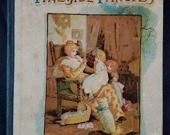 Fireside Fancies Victorian Children's Book with Lithographs