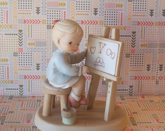 """1992 Enesco Memories of Yesterday Collection """"Five Years of Memories"""" Limited Edition"""
